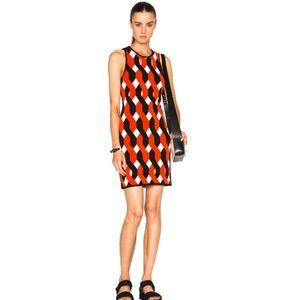 Rag & Bone Olympia Printed Mini Dress Small